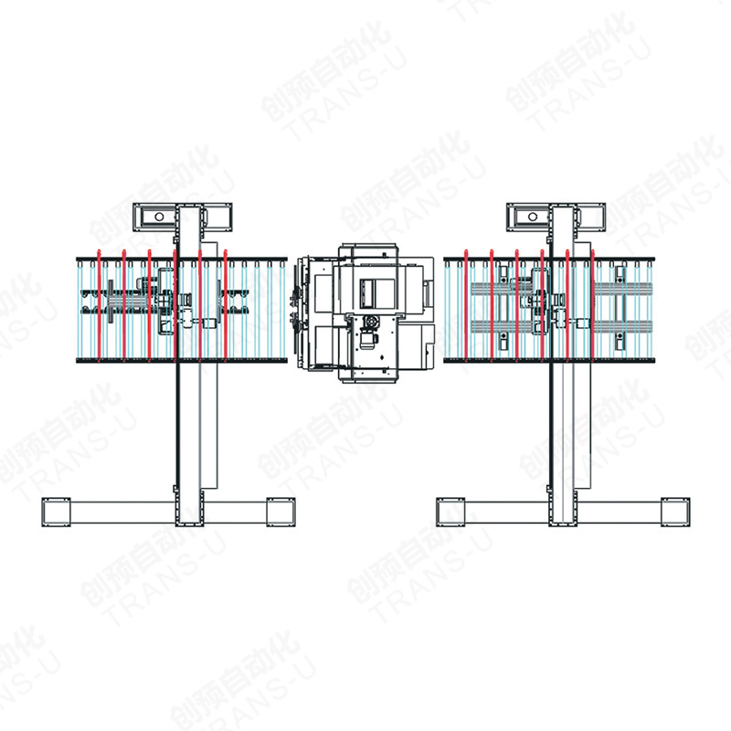 Auto Loading Line of Multi-blades Saw