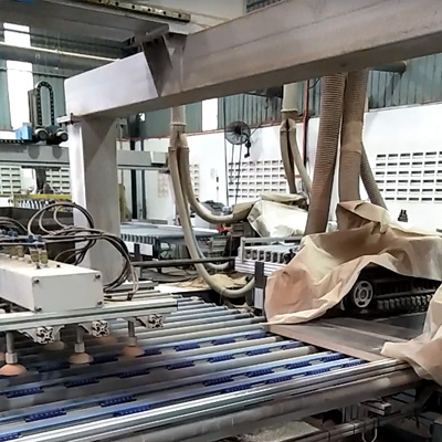 DET production line with Gantry machine